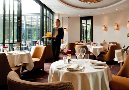 Baudelaire Restaurant in Le Burgundy Paris