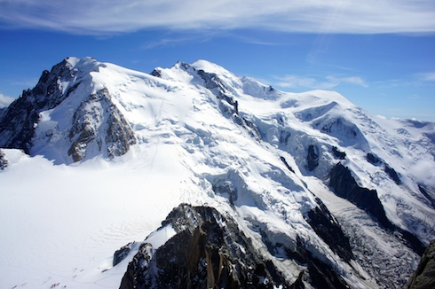 Summit of Mont Blanc