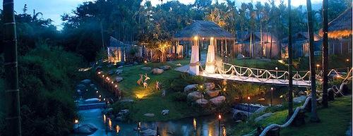 Luxury hotel in Pai, Thailand