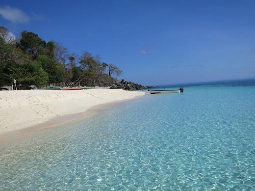 Club Paradise Palawan beach