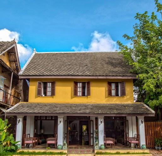 Boutique hotel Luang Prabang