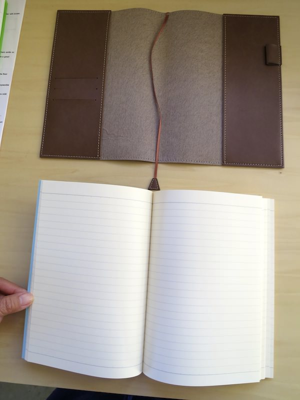 fountain pen friendly notebook from Japan