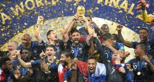 ألبوم صور: تتويج فرنسا بطلة العالم