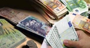 بنك المغرب يعلن عن انخفاض الدرهم مقابل الأورو