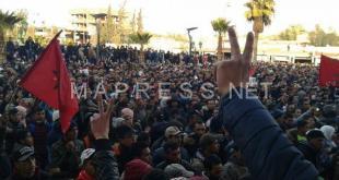 القضاء يوزع أزيد من 30 سنة سجنا على معتقلي جرادة