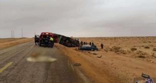 """العناية الإلهية تنقذ المديرة الإقليمية للتعليم في """"الناظور"""" من حادثة سير خطيرة"""