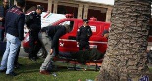 اصطدام شاحنتين على الطريق الرابط بين مدينتي أغادير ومراكش