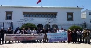 """الأساتذة """"ضحايا مرسوم 2.18.294 """" يدخلون في إضراب و اعتصام إنذاري ليومين بدءا من اليوم"""