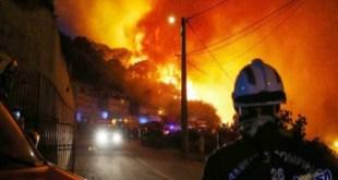 """حريق مهول في مستشفى """"سبيطار السويسي"""" للأطفال في الرباط"""
