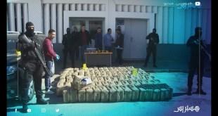 إفشال عملية تهريب كمية كبيرة من مخدر الشيرا بأكادير