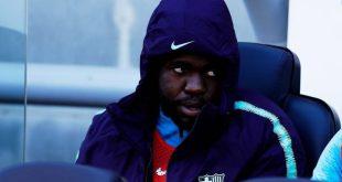جدل بين جماهير برشلونة بسبب رسالة غامضة لأومتيتي