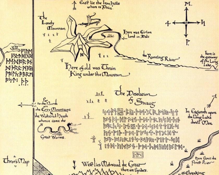Thrór's Map