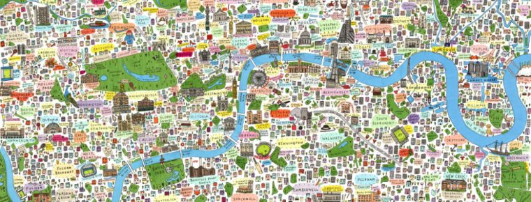 illustrated-map-london