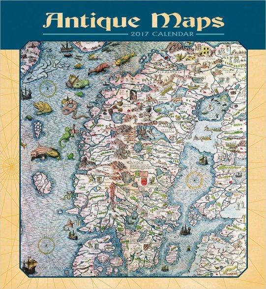antique-maps-calendar-2017