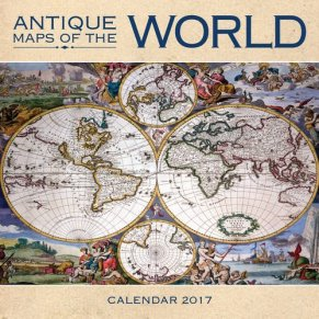 antique-maps-world-calendar-2017