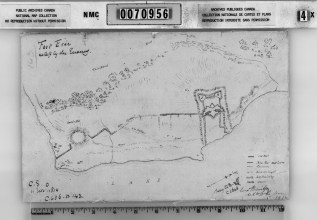 9. Fort Erie as Left by the Enemy (1814)