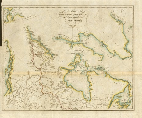 10. Franklin's Map (1828)