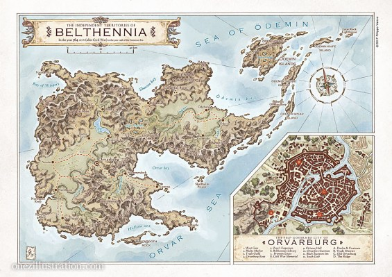 Fantasy maps the map room the cartographers guild that online community of fantasy map makers announced the 2018 winners of their atlas awards which honour the best maps made by gumiabroncs Images
