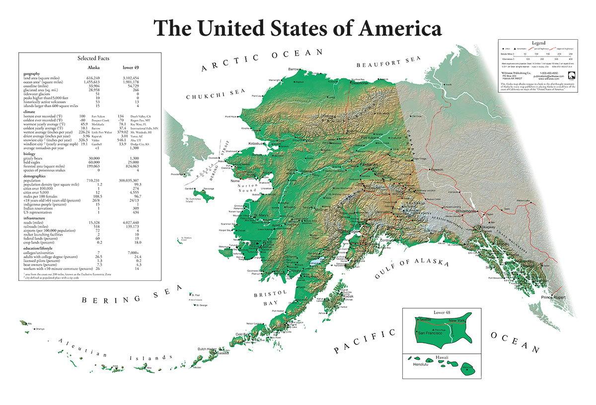 Alaska's cartographic revenge