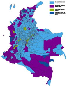 Mapping the 2018 Colombian Presidential Election, First Round – The ...