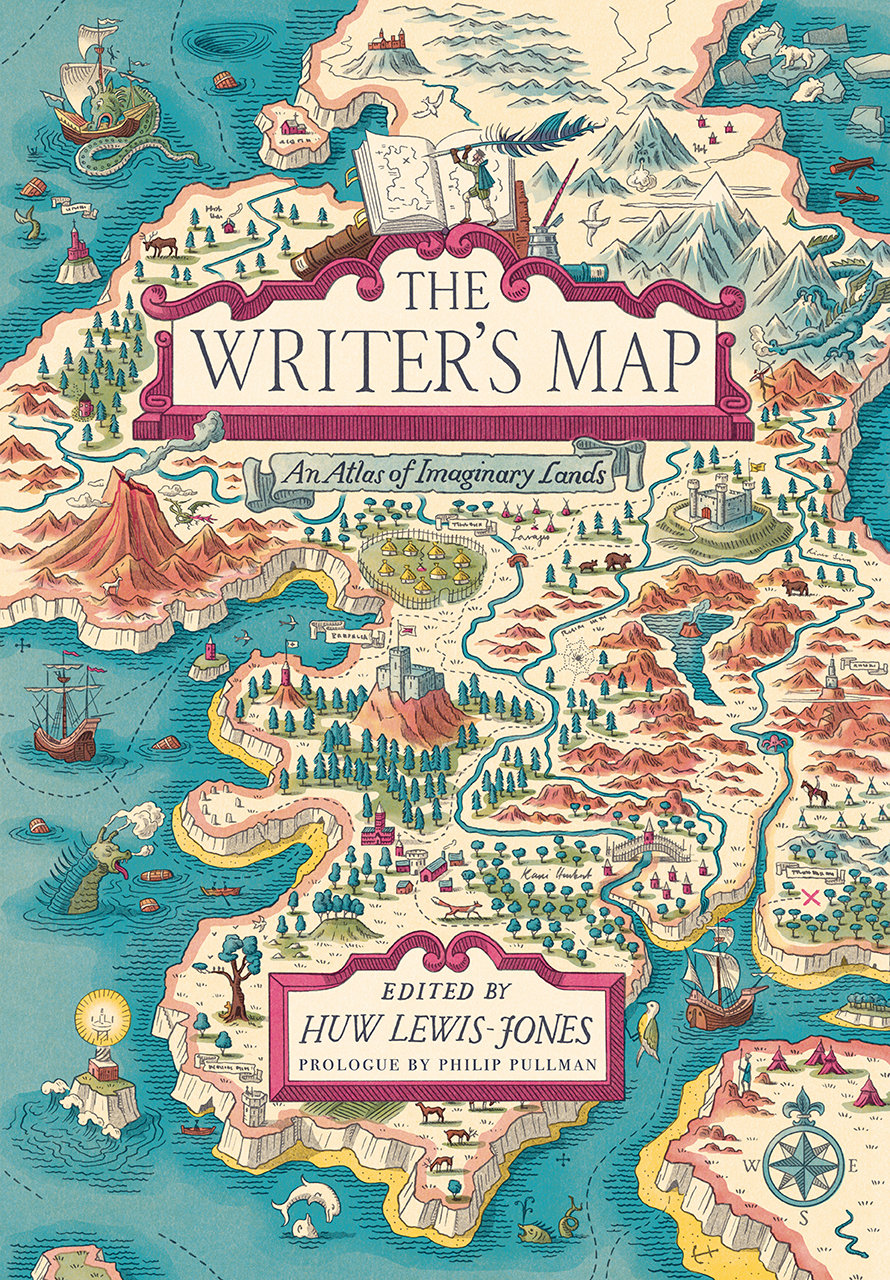 The Writer's Map (cover)
