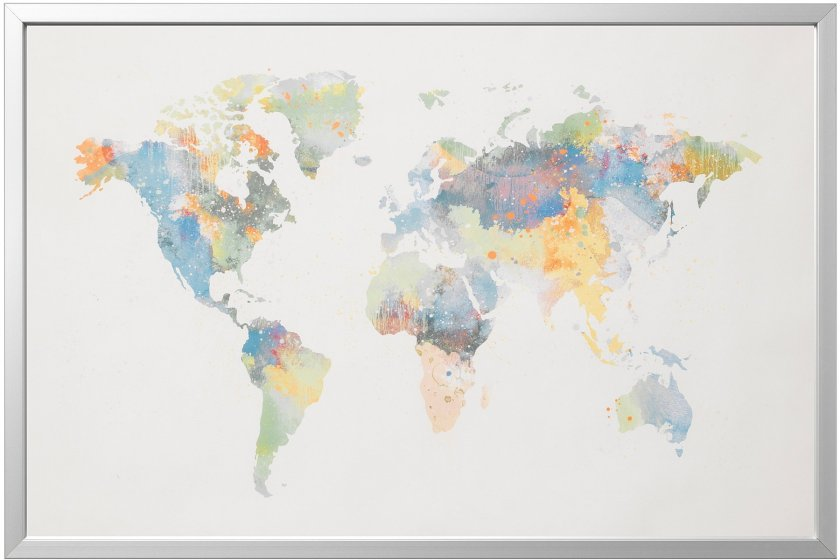 IKEA Map Poster Omits New Zealand – The Map Room