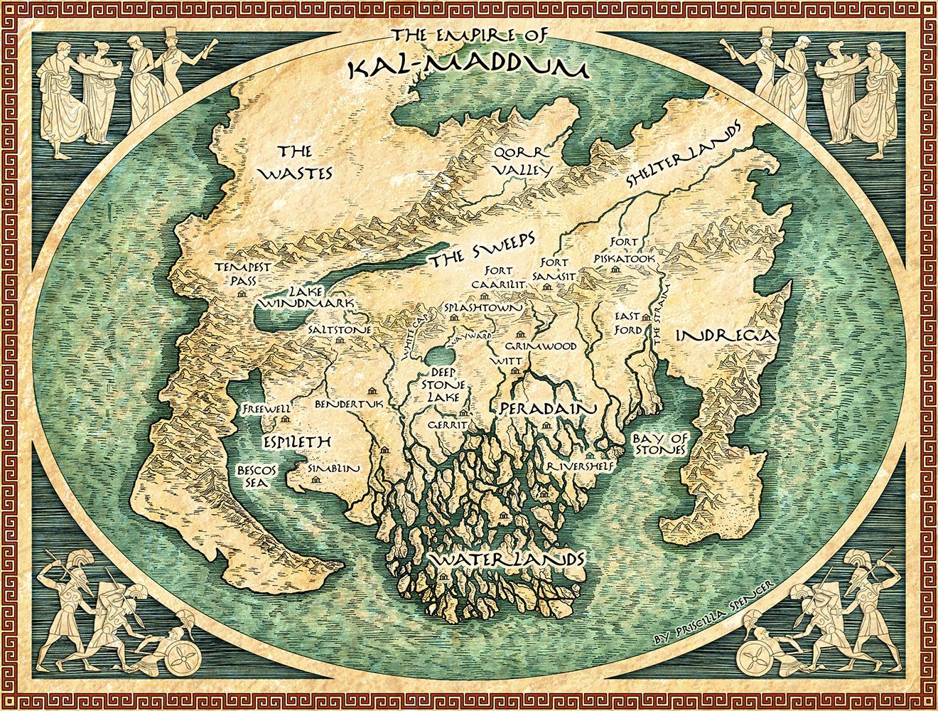 priscilla spencer  fantasy mapmaker  u2013 the map room