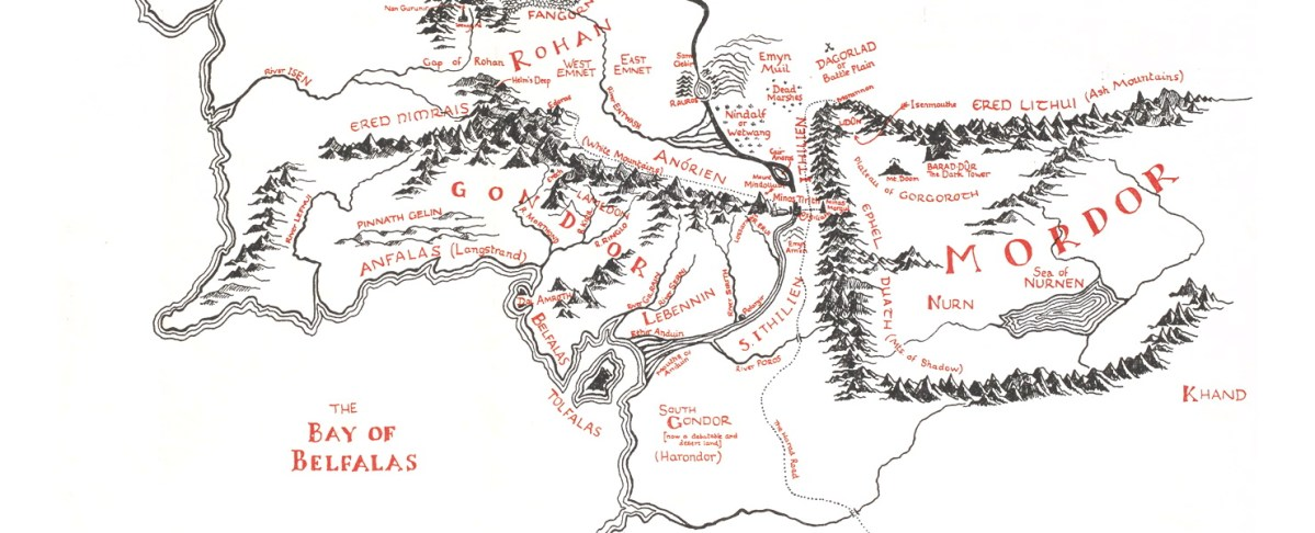 Celebrating Christopher Tolkien's Cartographic Legacy