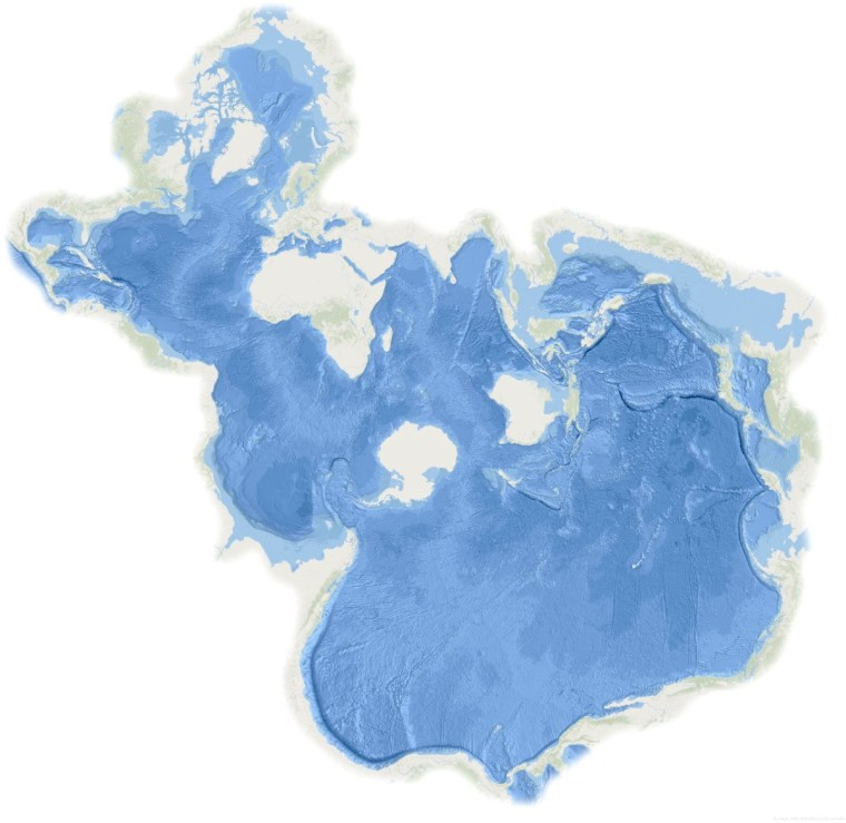 Spilhaus projection