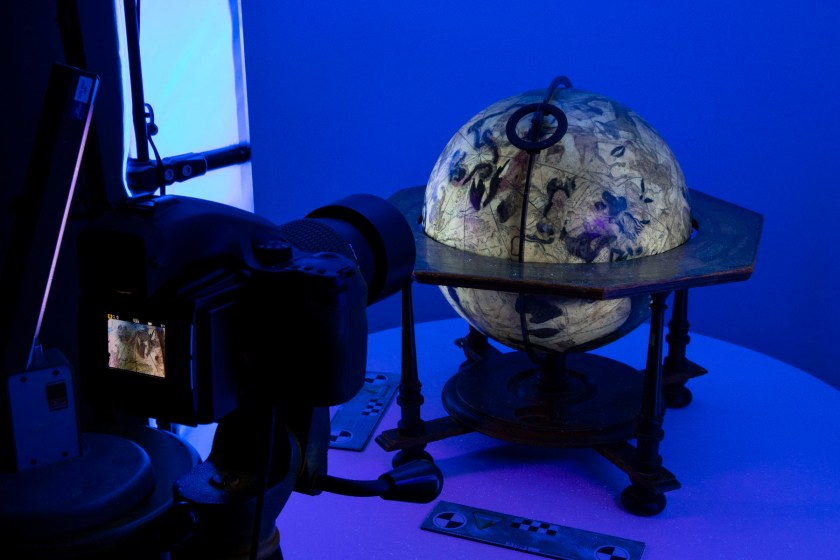 British Library digital globes