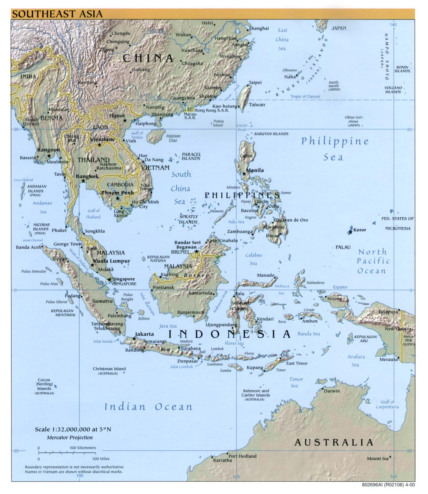 Maps Of Asia And Asia Countries