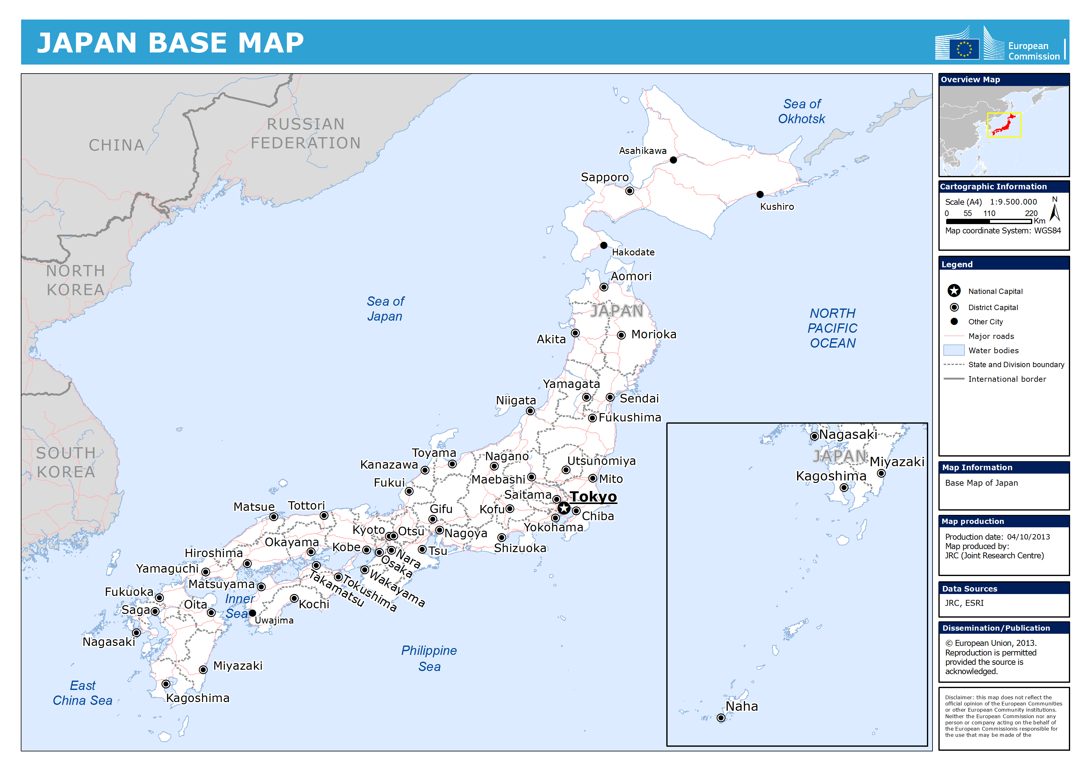 Maps Of Japan