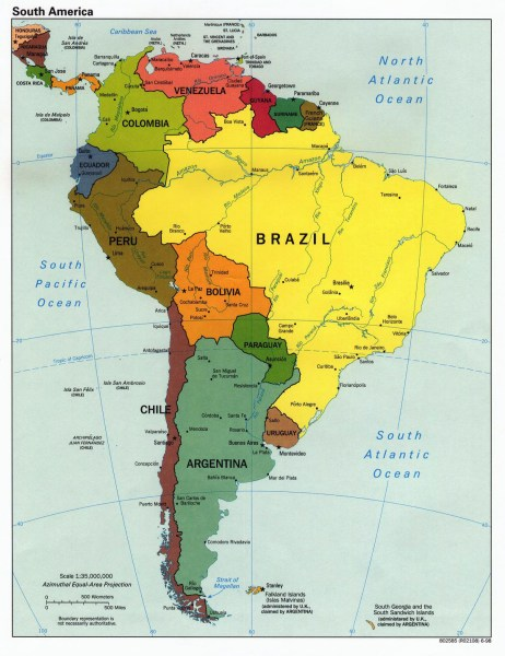 large detailed of bolivia map » [HD Images] Wallpaper For Downloads ...