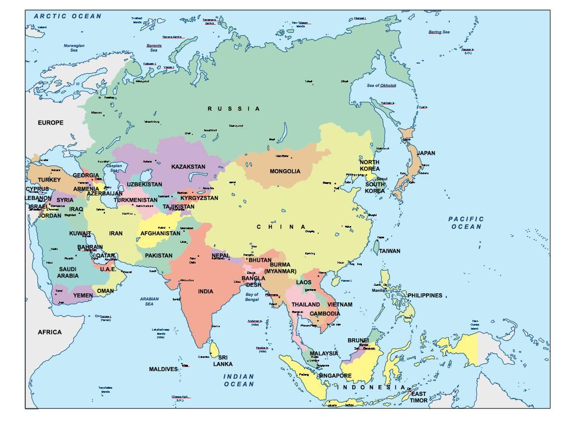 Ilike2learn Europe Map