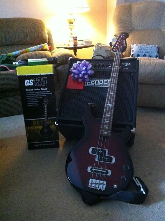Craig's Bass and Amp