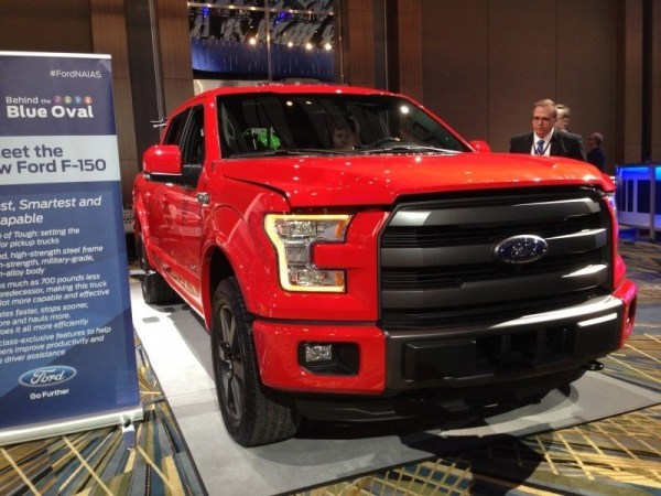 FordNAIAS All New F-150