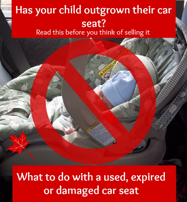 What To Do With A Used Expired Or Damaged Car Seat