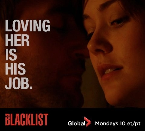 The Blacklist - Loving her is his job! Watch Global TV Monday at 10pm