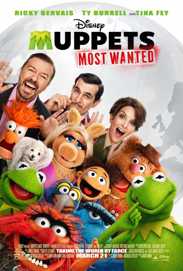 Muppets Most Wanted Advanced Screening giveaway #Toronto
