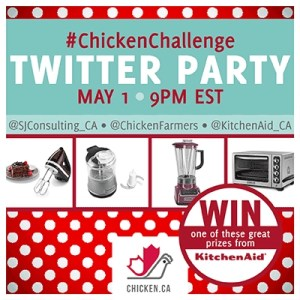 Chicken Challenge Twitter Party