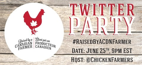 #RaisedByACDNFarmer Twitter Party - June 25th