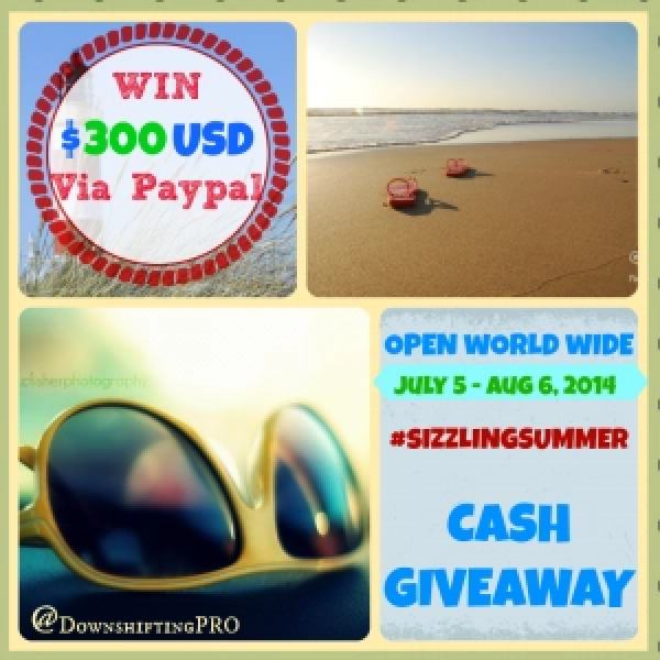 Sizzling Summer Cash Giveaway