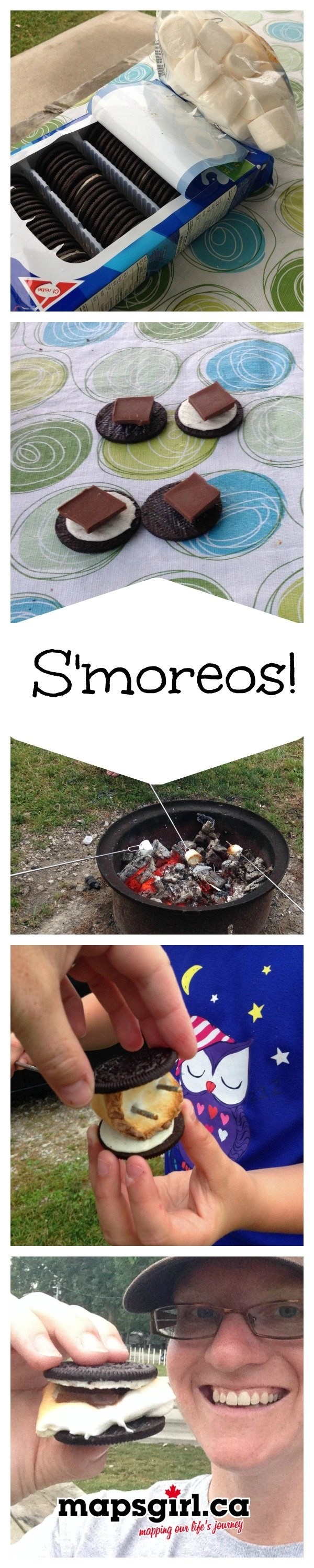 S'moreos! #WordlessWednesday