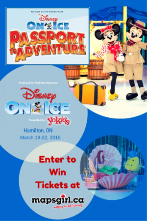 Win Disney on Ice Passport to Aventure Tickets @ mapsgirl.ca
