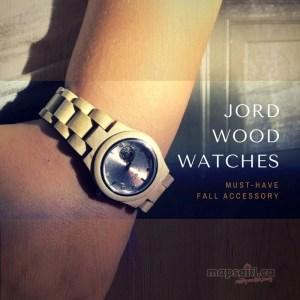 JORD Wood Watches @ mapsgirl.ca
