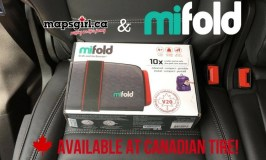 mifold, the grab and go booster, now available at Canadian Tire #mifold
