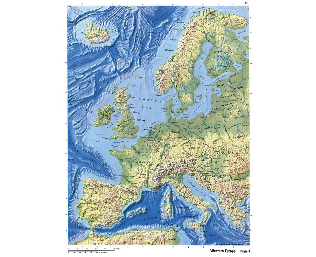 Maps Of Europe And European Countries Collection Of Maps Of Europe Mapsland Maps Of The World