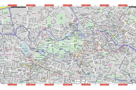 berlin tourist map with attractions » Full HD MAPS Locations ...