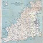 Large Detailed Old Map Of Guernsey With All Roads And Cities 1930 Guernsey Europe Mapsland Maps Of The World