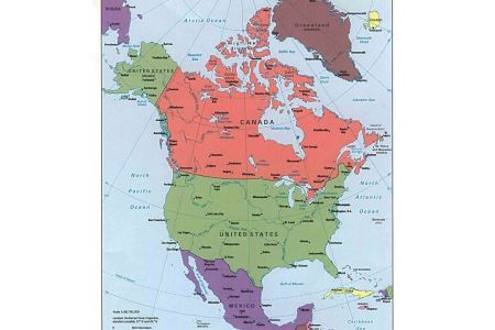 Map countries of north america path decorations pictures full map of north and south america map of north and south america north america map countries fundamentals north america map countries what are in the continent gumiabroncs Image collections